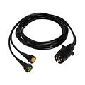 Kabelboom 5-PIN | 6,0m lang zonder DC-kabel met 7-polige