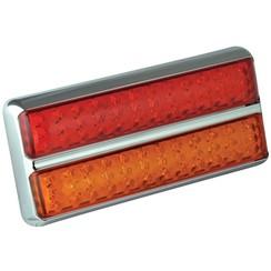 LED rear light slimline   12-24v   40cm. cable