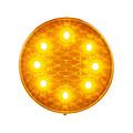 LED Knipperlicht    12-24v   heldere lens 30cm. kabel
