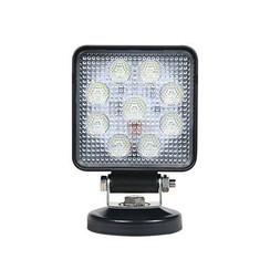 LED arbeitsscheinwerfer   13,5 Watt   1710 Lumen   9-36V   m.voet + s.plug