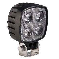 LA LED Work light | 12 watt | 1000 lumens | 10-80v | Flood Beam Black