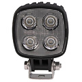 LED LA Werklamp |  12 watt | 1000 lumen | 10-80v | Floodbeam Zwart