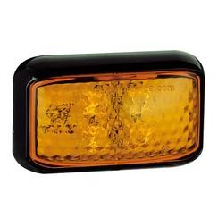 LED Zij-knipperlichtamber  | 12-24v |  40cm. kabel