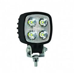 LED LA Werklamp |  12 watt | 1000 lumen  | 12-24v | Floodbeam Zwart