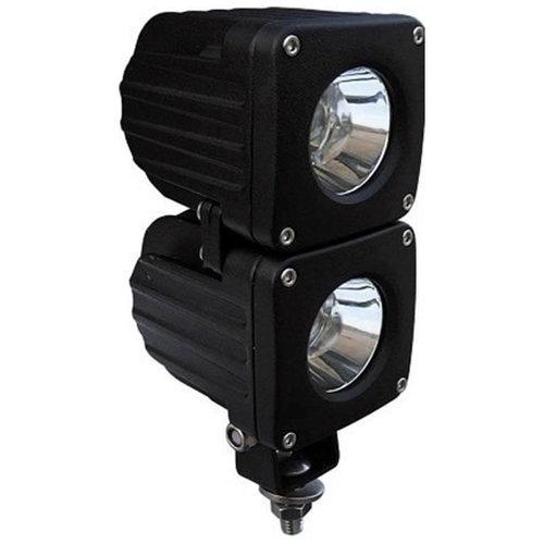 LED Werklamp   10 watt   900 lumen   9-36v   40cm. kabel