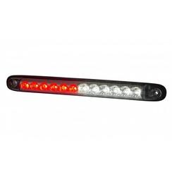 Slimline LED fog light / rear combination | 12-24v | 100cm. cable