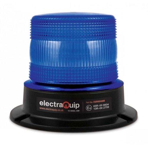 ElectraQuip  R65 LED Flits/zwaailamp Blauw   10-30v  