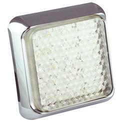 LED-Rückleuchten mit Chromring | 12-24V | 40cm. Kabel