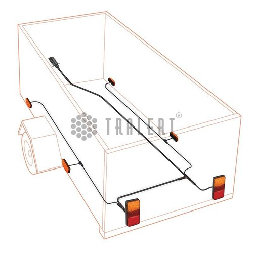 1,3m. verbindingskabel tussen lamp links & rechts
