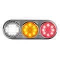 Combination LED light | 12-24v | 30cm. cable (+ bRight chrome)