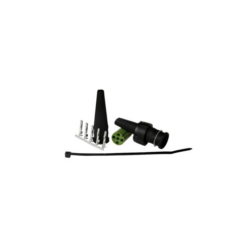 6-PIN's Bajonet aansluiting links zonder kabel