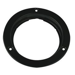 Opbouwrand staal zwart 110 series
