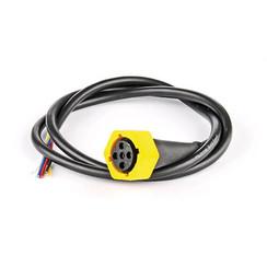5-PIN's Bajonet aansluiting rechts 50cm. kabel