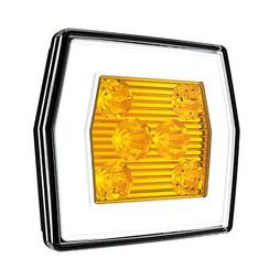 LED Dagrijverlichting met knipperlicht functie  | 12-24v |