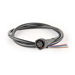 7-PIN's Bajonet aansluiting 50cm. kabel