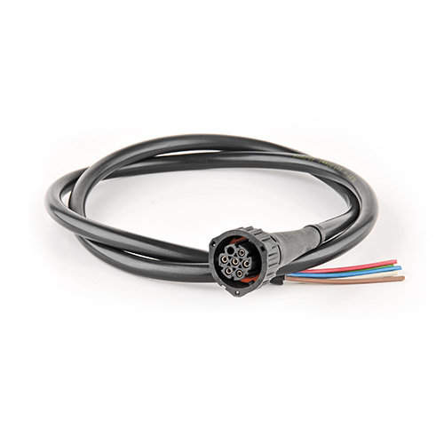 7-PINs bayonet connection 50cm. cable