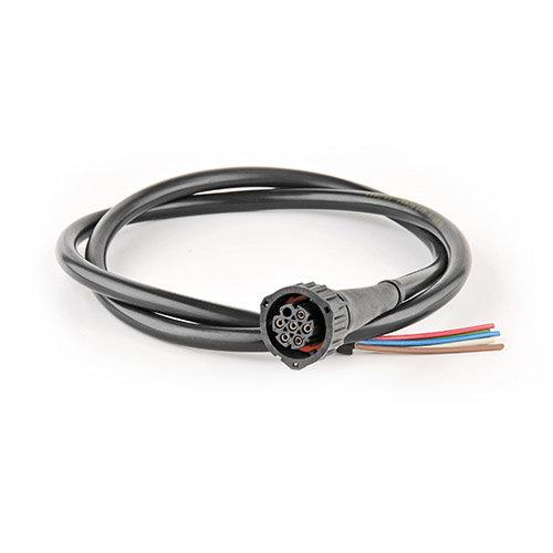 Fristom 7-PIN's Bajonet aansluiting 50cm. kabel