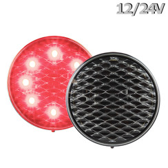 LED Brake / rear light | 12-24v | 30cm clear lens. cable