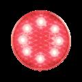 LED Rem-/achterlicht  | 12-24v | heldere lens 30cm. kabel