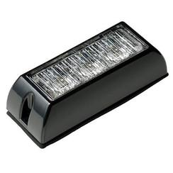 LED Flitser 3 LED's Wit | 10-30v |