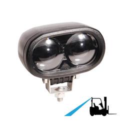 LED Blue Spot veiligheidslamp |6 watt | 10-80v