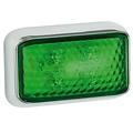 LED decoratielicht    groen   12-24v    40cm. kabel