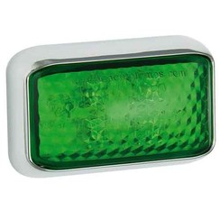 LED decoratielicht |  groen | 12-24v |  40cm. kabel
