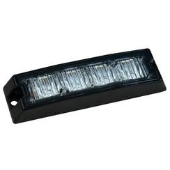 R65 Slimline LED Flash 4 LEDs Amber | 10-30V |