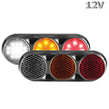 LED Combi lamp    12v   30cm. kabel (kleur + zwart)