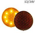 LED Autolamps  LED Knipperlicht | 12-24v | gekleurde lens 30cm. kabel