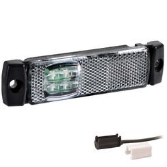 LED Umrissleuchten weiß | 12-24V | 1,5mm Stecker