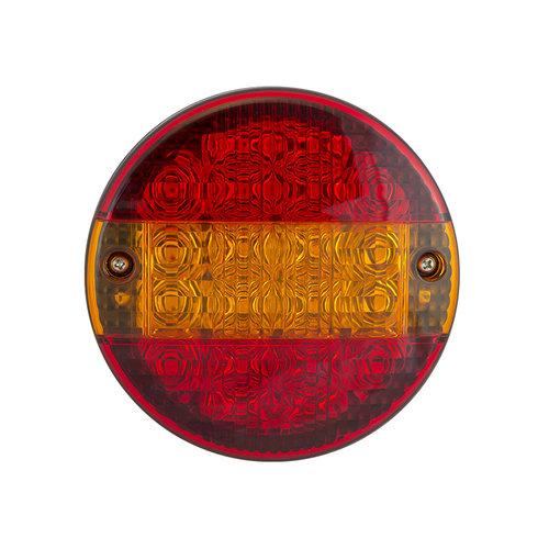 LED Autolamps  LED hamburger slimline achterlicht  | 12-24v | 30cm. kabel