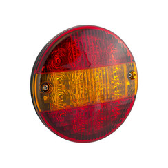 LED hamburger slimline achterlicht  | 12-24v | 30cm. kabel