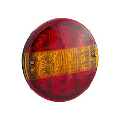 LED hamburger slimline rear | 12-24v | 30cm. cable