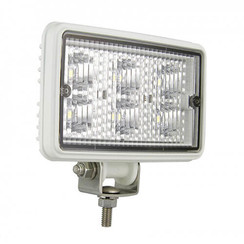 LA LED Work light | 6 Watt | 720 lumens | 12-24v | Flood Beam White