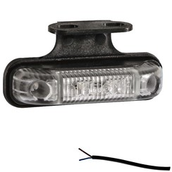 LED marker light amber   12-24v   50cm. cable