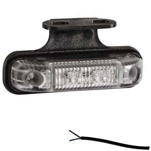 Fristom LED markeringslicht amber  | 12-24v | 50cm. kabel