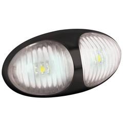 LED Umrissleuchten weiẞ | 12-24V | 2-poligen Stecker