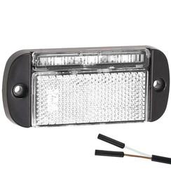 LED Umrissleuchten weiẞ | 12-24V | 2 Steckerstift des