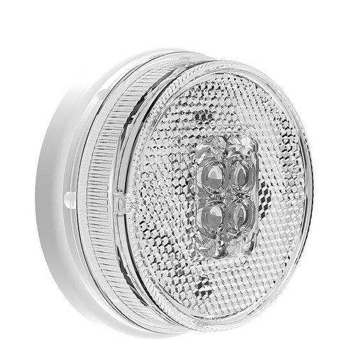 Fristom LED markeringslicht wit    12-24v    50cm. kabel