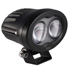 LED Work light | Blue, 6 Watt | 750 lumens | 9-110v | convex lens
