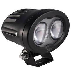 LED Work light | Blue, 6 Watt | 750 lumens | 9-110v | convex lens