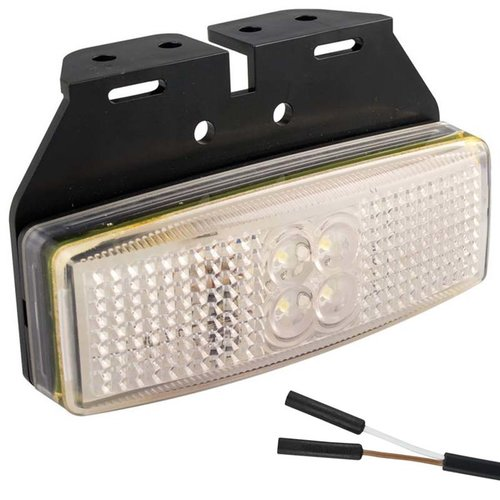 LED markeerlicht wit    12-24v    2 pin's connector