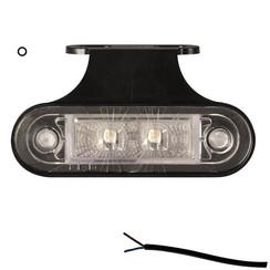LED Umrissleuchten weiß   12-24V   50cm. Kabel
