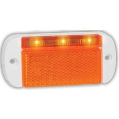 LED Umrissleuchten Gelb | 12-24V | 20 cm. Kabel