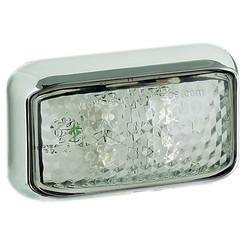 LED marker light white | 12-24v | 40cm. cable