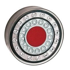 LED fog light in chrome look | 12-24v | 40cm. cable