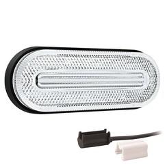 LED Umrissleuchten weiẞ | 12-24V | 1,5mm² Stecker