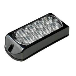 LED Flitser 8 LED's Amber | 10-30v |