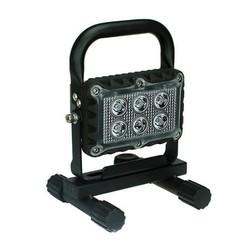 LED werklamp 18 watt USB oplaadbaar / 1200 lumen 12/24v
